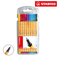 STABILO Point 88 10PCS Wallet 8810