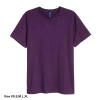 H&M Rounded-neck T-shirt for men (XS) (Purpl