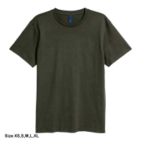 H&M Rounded-neck T-shirt for men (XS) (Green