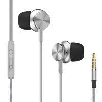 Rock Space Y2 stereo earphone (RAU0527)(silver)