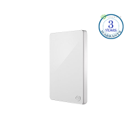 Seagate Backup Plus 1TB, (White), External HDD,