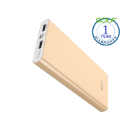 Golf Powerbank EDGE12 (12000 mAh) Gold