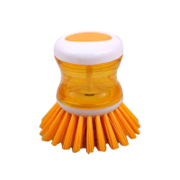 Plate cleaning Brush  (Yellow)